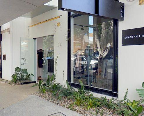 Retail shopping property